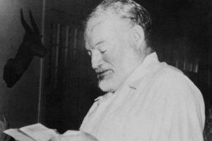 Pirmą kartą bus paskelbtas 1956 m. parašytas E. Hemingway apsakymas