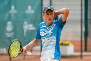 Tenisininkas T. Babelis Turkijoje iškopė į dvejetų varžybų pusfinalį