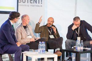 """Diskusijų festivalyje """"Būtent!"""" – 5 tūkst. aktyvių ir neabejingų Lietuvai lankytojų"""