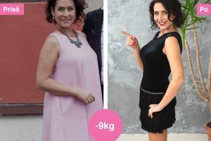 I. Starošaitė atsikratė 9 kilogramų: nuo to laiko komplimentai tiesiog pilasi