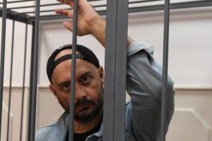 Rusija pratęsė namų areštą teatro režisieriui R. Serebrenikovui
