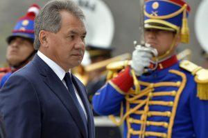 S. Šoigu: Vašingtonas laiko Rusiją grėsme JAV dominavimui