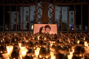 Slovakijos žurnalisto J. Kuciako nužudymą galėjo užsakyti vienas multimilijonierius