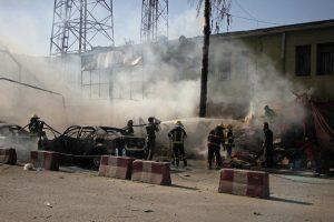 Afganistane sprogdintojo atakos aukų padaugėjo iki 19