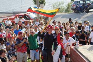 E. Riabko Pasaulio F-2 vandens formulių čempionate išlaikė trečiąją poziciją