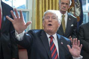 Skrydžio metu moteriai krūtį grabinėjęs vyras teisinasi, jog tai leido D. Trumpas