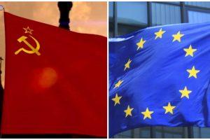 Britanijos diplomatijos vadovas kritikuojamas dėl ES ir SSRS palyginimo