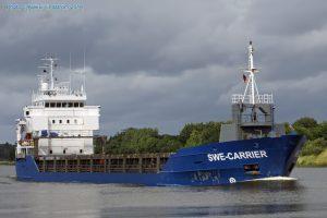 """Nutraukta """"Swe Carrier"""" laivo įgulos nario paieška (atnaujinta)"""