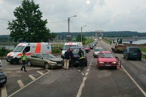Dvi avarijos: medikų pagalbos prireikė keliems žmonėms