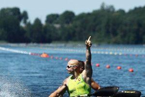 Lietuvos baidarių irkluotojams skirta dar viena vieta olimpiadoje