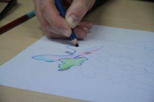Ir dailės studija, ir neįgaliųjų prieglobstis