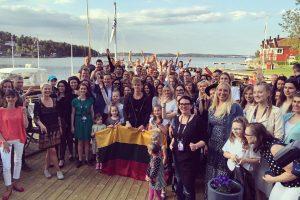 D. Montvydas susitiko su Švedijos lietuvių bendruomene