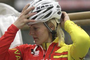 S. Krupeckaitė iškovojo pasaulio dviračių treko taurės auksą