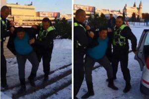 Policininkų iš vyninės ištemptas V. Cololo: prisidirbau