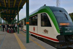 Po ilgos pertraukos į Kauną atvyksta pirmasis traukinys iš Lenkijos