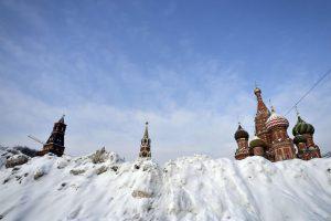 Maskva paralyžiuota rekordinio snygio