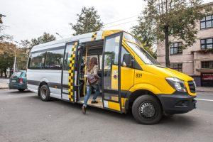 Maršrutinių taksi keleiviams – trys svarbios naujienos