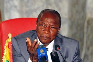 Gvinėjos prezidentas A. Conde perrinktas 57,85 proc. balsų