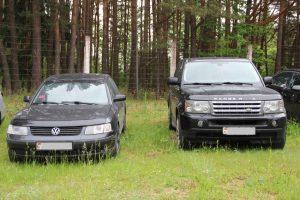 Belgijoje prieš dvidešimt metų vogtą mašiną sulaikė Lietuvoje