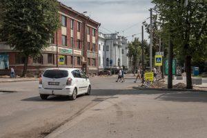 Priminimas vairuotojams: K. Donelaičio gatvę geriau aplenkti