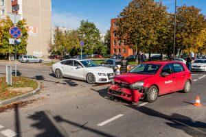 Kaune pasipylė eismo nelaimės: tarp nukentėjusiųjų – ir kūdikis