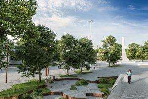 Ko pasigendama aikštės prie Kauno S. Dariaus ir S. Girėno stadiono projekte?