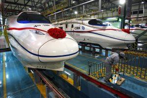 Kinijoje vėl kursuos greičiausi pasaulyje traukiniai
