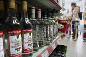 Apsinuodiję nekokybišku alkoholiu Ukrainoje jau mirė 23 žmonės