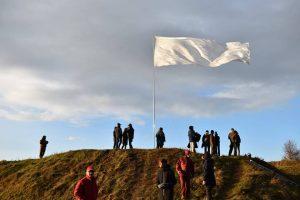 Festivalio uždarymas – su baltos vėliavos pakėlimu