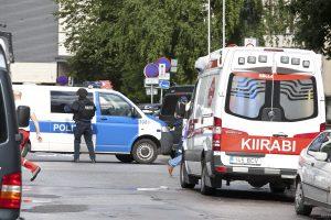 Dėl galimo žmonos padegimo Estijoje suimtas pabėgėlis