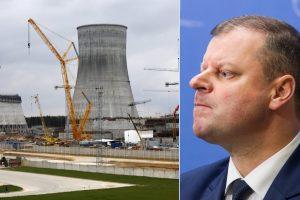 Minskas teigia dar negavęs premjero laiško dėl Astravo jėgainės