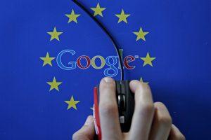 """Europos Sąjunga žeria naujus kaltinimus """"Google"""""""