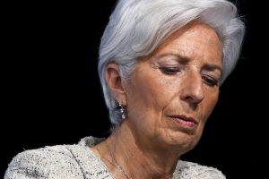 Tarptautinio valiutos fondo vadovė teismo neišvengs