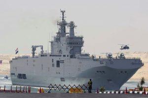 Egipto kariniai laivai bus aprūpinti rusiška elektronika