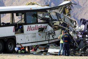 Serbijoje apvirto lenkų vaikus vežantis autobusas, yra sužeistųjų