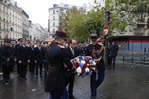 Prancūzija mini pirmąsias Paryžiaus išpuolių metines