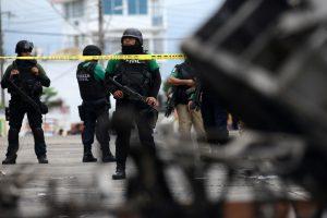 Šaudynės Meksikoje: policija nukovė 14 nusikaltėlių