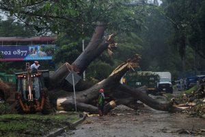 """Uraganas """"Otto"""" Panamoje nusinešė trijų žmonių gyvybes"""