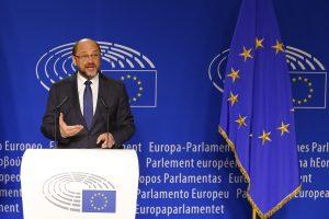 Postą Europos Parlamente M. Schultzas keis į Vokietijos politiką