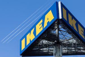 """Nauja pramoga – nakvynė """"IKEA"""" parduotuvėje"""