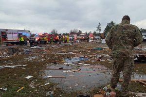 JAV siautėjęs tornadas nusinešė per 18 gyvybių
