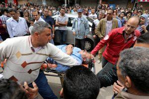 Tragiškas Verbų sekmadienis Egipte: sprogimai nugriaudėjo dviejose bažnyčiose