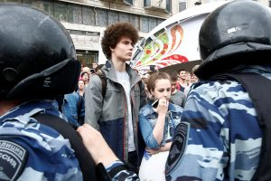 Dėl teroro išpuolių grėsmės Maskvoje evakuojami prekybos centrai