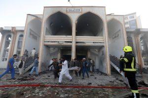 Kabule per išpuolį šiitų mečetėje žuvo mažiausiai 20 žmonių