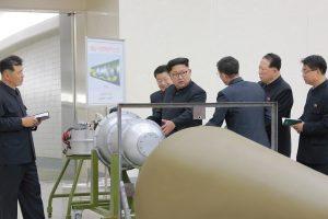 Pchenjano branduolinis užtaisas buvo 10 kartų galingesnis už Hirošimos bombą