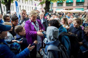 """Norvegija artėja prie """"rinkimų trilerio"""" kulminacijos"""