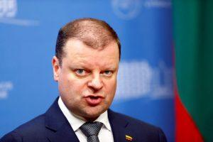 S. Skvernelis Briuselyje derėsis dėl ES paramos Lietuvai