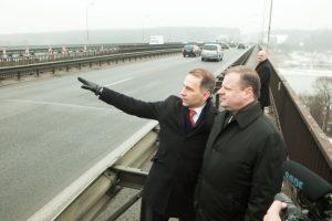 Kleboniškio tiltui Kaune – 100 mln. eurų