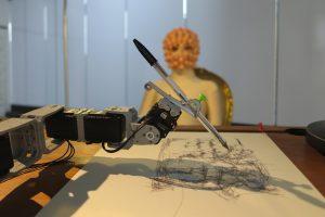 Tapyti portretus nuo šios gali ir robotai