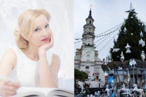 Jau gimsta Kauno Kalėdų eglės kontūrai: sugrįžta J. Šmidtienė